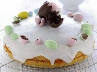 Torta glassata con gli ovetti Sale&Pepe