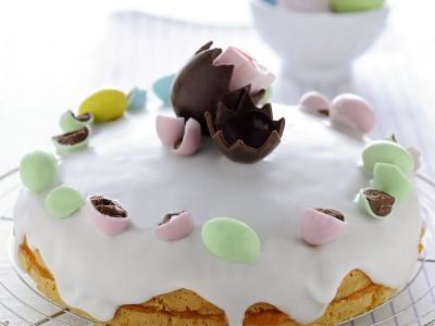 Ricetta torta glassata con gli ovetti