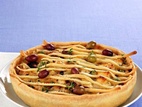 Torta salata con patate e olive Sale&Pepe