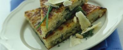 Ricetta torta di patate al parmigiano reggiano