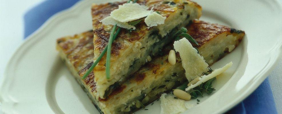 Torta di patate al parmigiano reggiano Sale&Pepe
