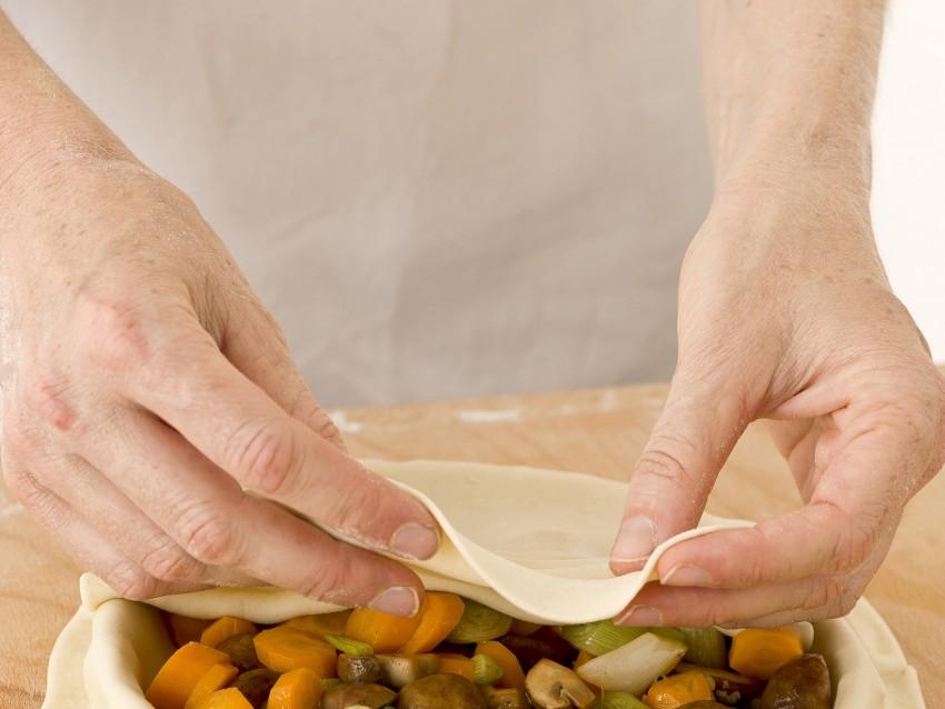 Torta salata chiusa con verdure miste Sale&Pepe immagine