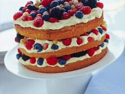 Ricetta torta a strati con frutti misti ricetta