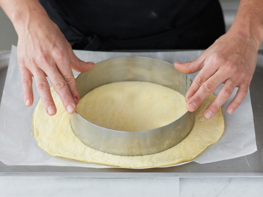 Tortina di crema pasticciera e frutta Sale&Pepe ricetta
