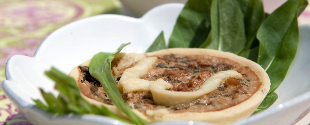Tortini di erbette e frutta secca Sale&Pepe immagine
