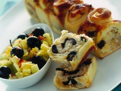 Ricetta tortino di rosette al parmigiano