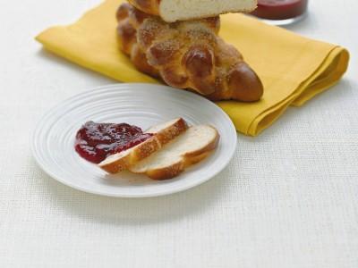 Ricetta treccia dolce per la colazione