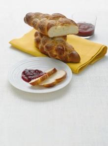 Treccia dolce per la colazione