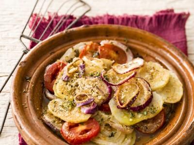 Ricetta u testu con patate