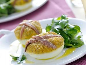uova ripiene gratinate Sale&Pepe ricetta