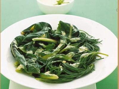 Verdure e maionese alle erbe ricetta