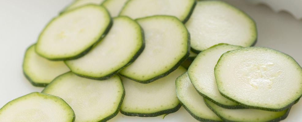 come pulire le zucchine