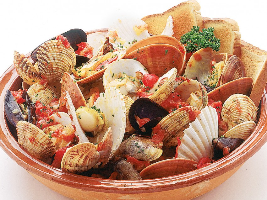 Ricetta zuppa frutti di mare