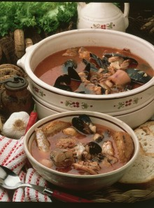 Zuppa di pesce classica