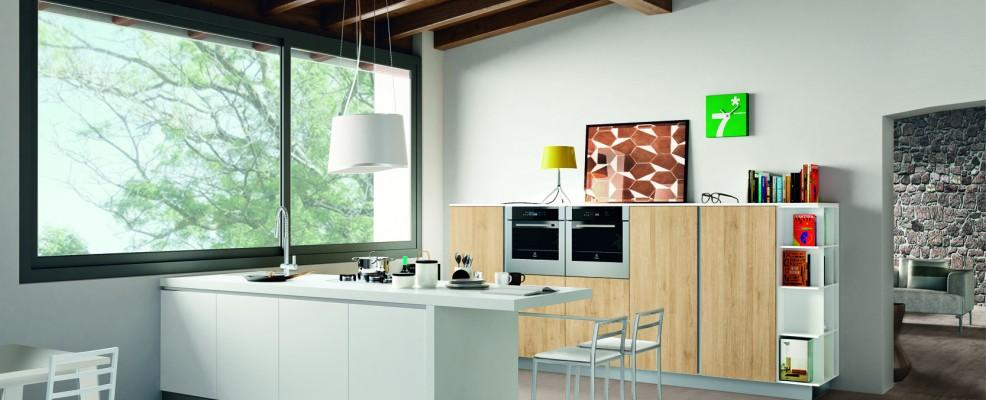 Creo Kitchens di Gruppo Lube, modello Ank