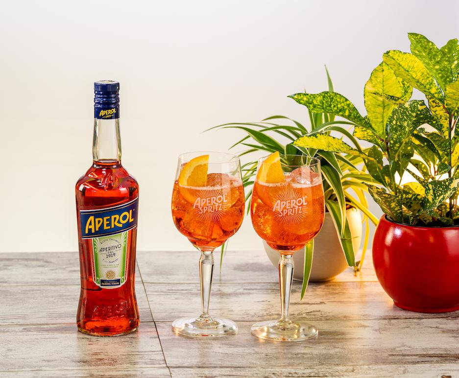 Spritz Ricetta Con Acqua Frizzante.Aperol Spritz Sale Pepe
