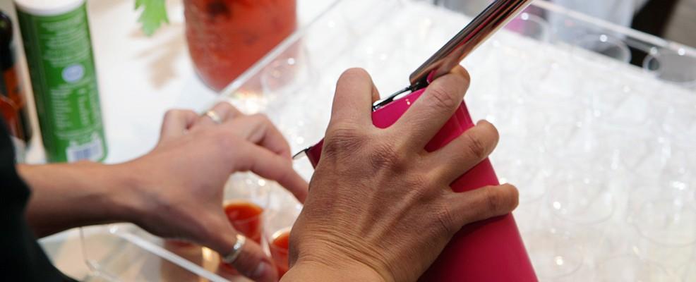La preparazione del drink