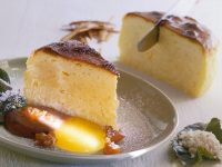 Dolce soffice alle due salse ricetta Sale&Pepe