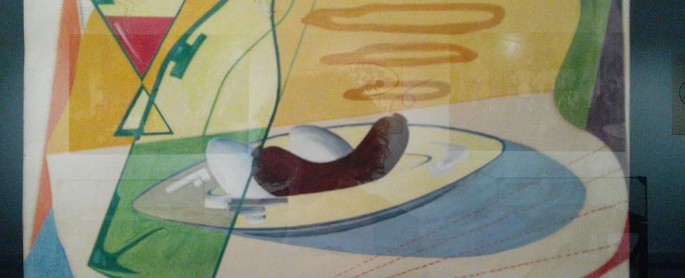 Elia Vottero, Pranzo futurista, 1931 - olio su tela