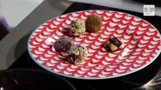 Ricette dal #FoodExp, praline al cioccolato