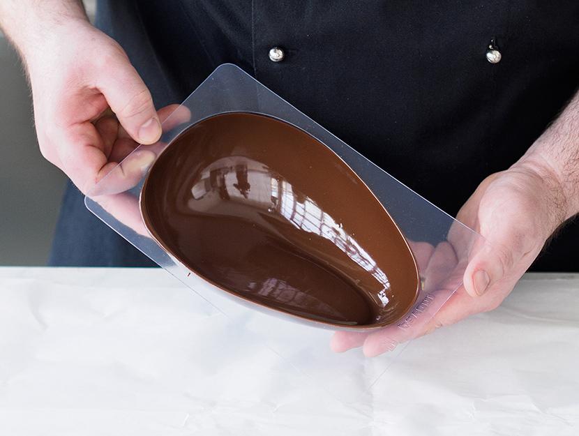 Uovo di Pasqua di cioccolato