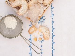 Vanillekipferl - Biscotti alla vaniglia Sale&Pepe ricetta