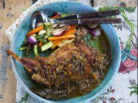 agnello a lenta cottura Sale&Pepe ricetta