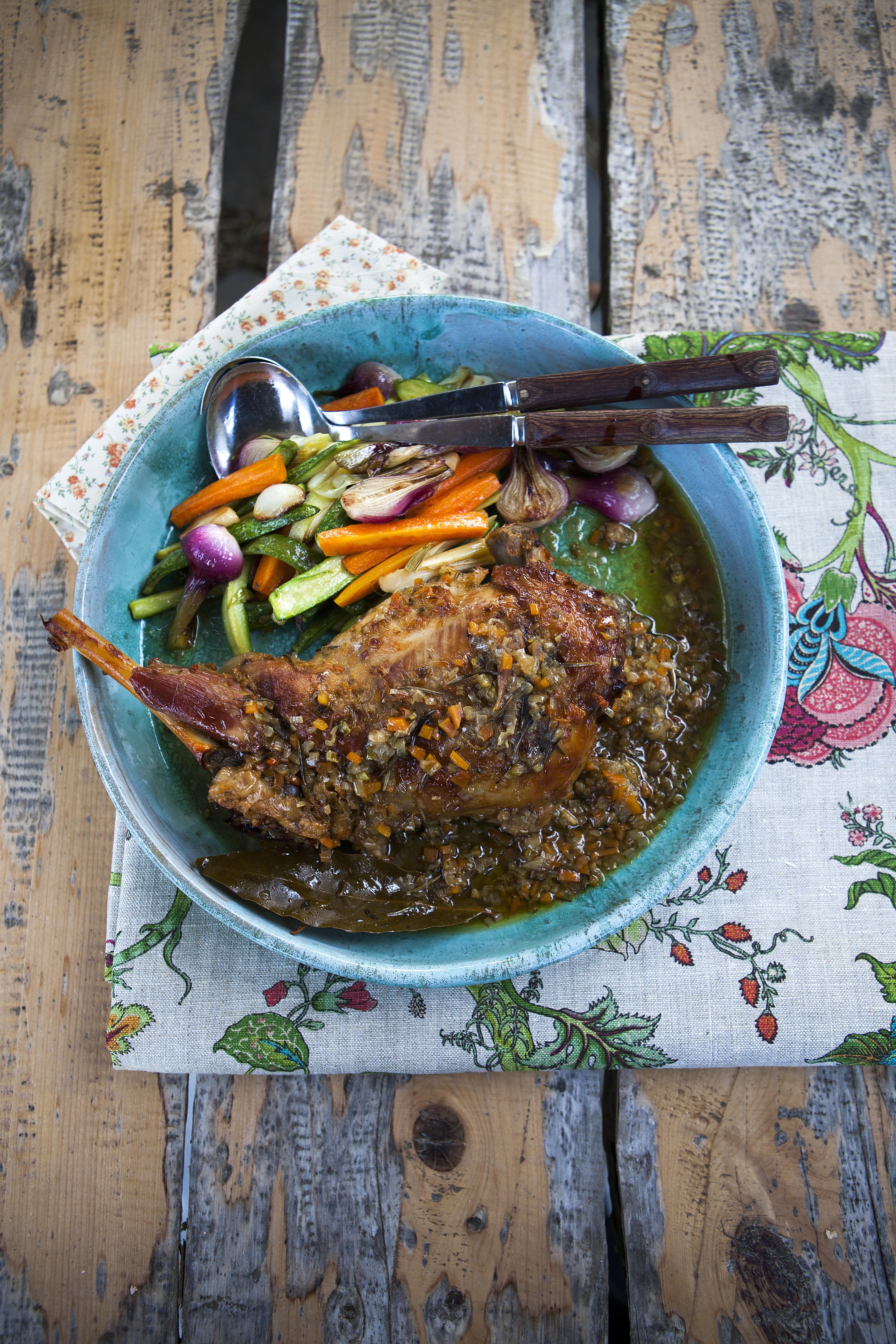 agnello a lenta cottura ricetta
