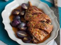 agnello in crosta di arancia e pepe rosa Sale&Pepe ricetta