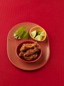 Le ali di pollo marinate
