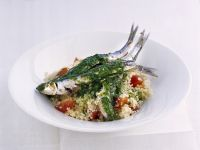 alici-scottate-al-pesto-di-rucola ricetta