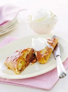 L'ananas nel cartoccio di pasta fillo