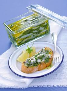 L'antipasto con salsa verde