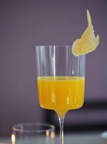 L'aperitivo di zenzero e ananas