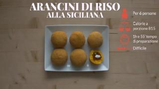 Gli arancini di riso alla siciliana