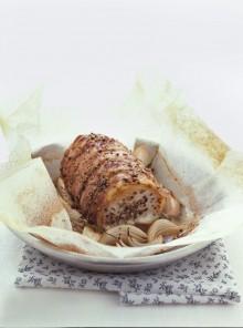 L'arrosto con le cipolle