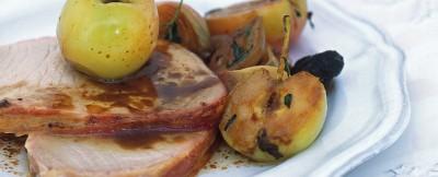 arrosto-con-prugne-e-mele ricetta