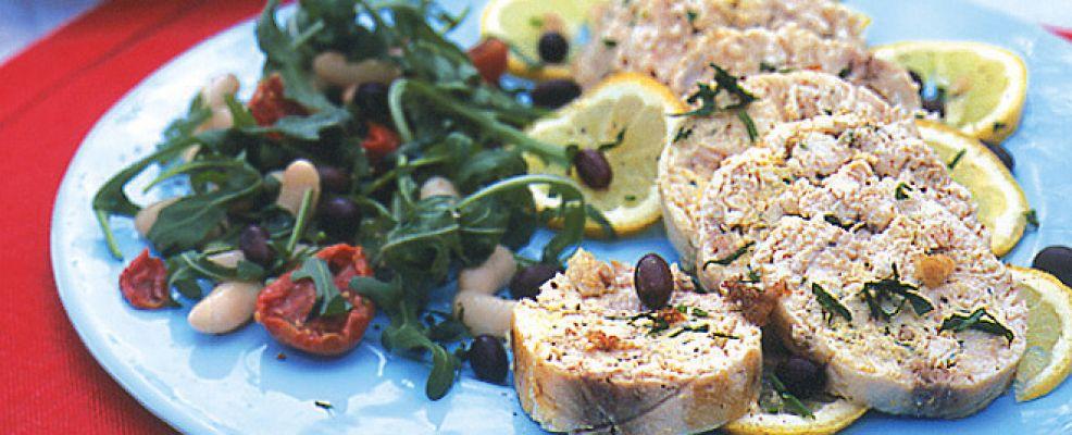 arrosto-di-pesce-spada-farcito ricetta