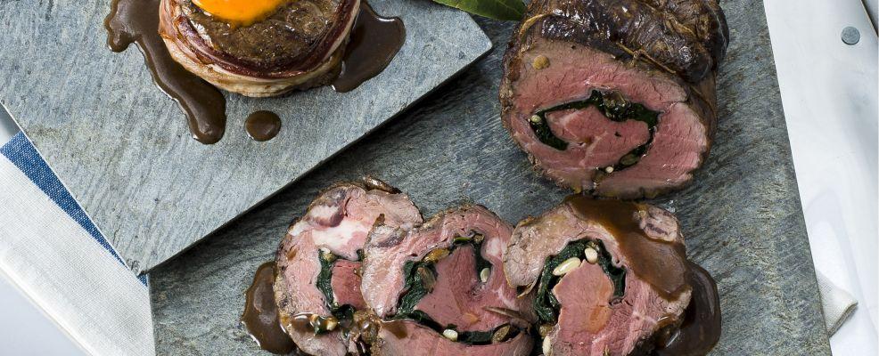 arrosto farcito con prosciutto e spinaci Sale&Pepe ricetta