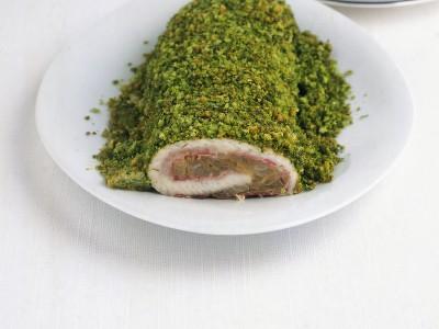 arrotolato-di-sogliola-alle-erbe-speck-e-indivia ricetta