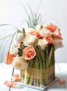 Gli asparagi e le rose