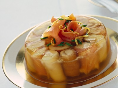 aspic-di-pesci-affumicati-con-crema-di-merluzzo
