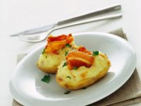 Jacket potatoes ricetta