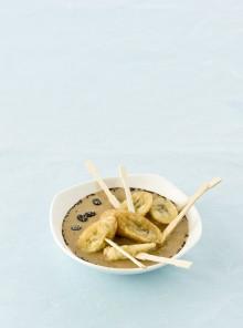 Le banane fritte moka