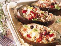 barchette di melanzane al pomodoro Sale&Pepe ricetta