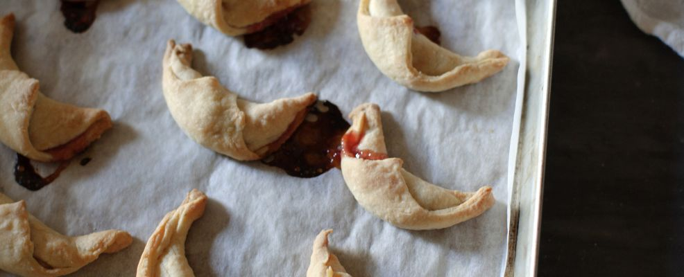 biscotti-a-lune-saracene-ripieni-di-marmellata preparazione