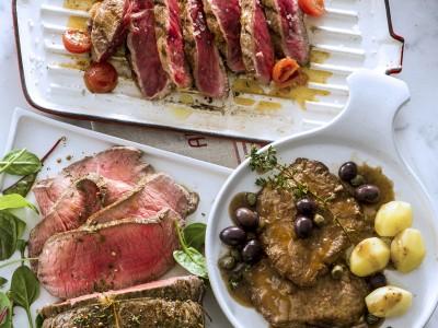 bistecche in salsa saporita foto