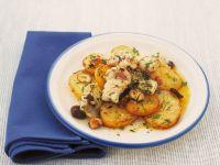 bocconcini-di-nasello-con-patate-e-nocciole ricetta