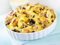 bread-pudding-con-salsa-al-whisky-louisiana ricetta