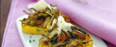 bruschette-di-polenta ricetta